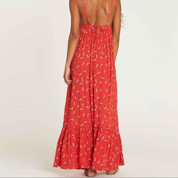 abfebffc785 Billabong Flamed Out Maxi Dress
